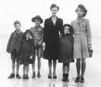 Henry, Isobel, Jeannine, Jean, Liz, Georgie